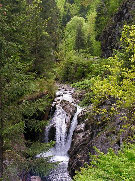 Jadolina vizesés Jád patak völgye