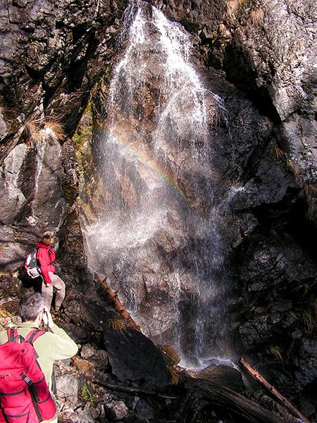 Cascada Miss de pe Valea Iadului