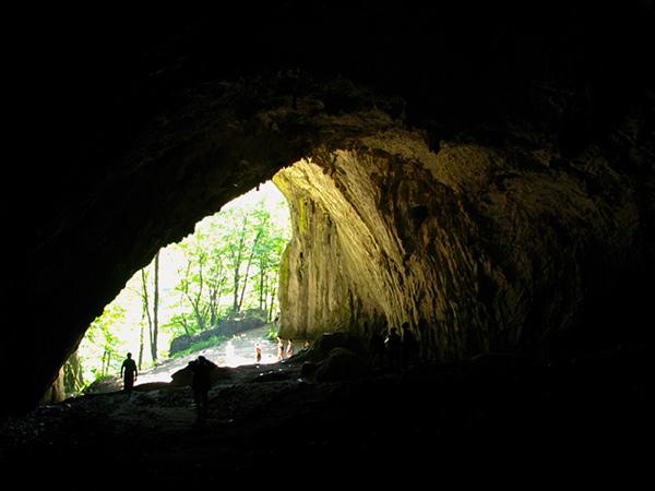Meziad cave entrance Bihor Romania