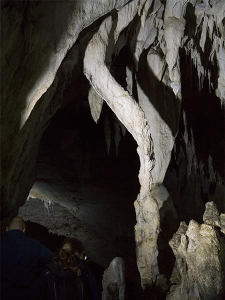 Meziad cave stalactite Bihor Romania