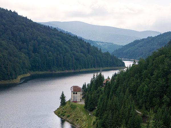 Baraj Floroiu Valea Draganului