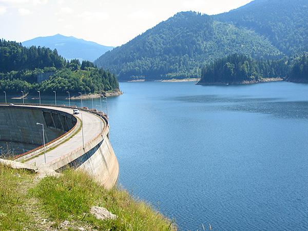 Lacul Baraj Floroiu Valea Draganului Bihor