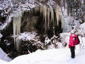 Iarna pe Valea Iadului