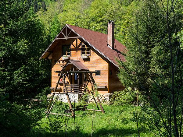 Cazare la Rustic House - Cabana 1