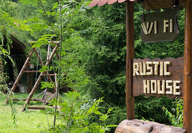 Pensiune Rustic House - Cabana 1 WI FI