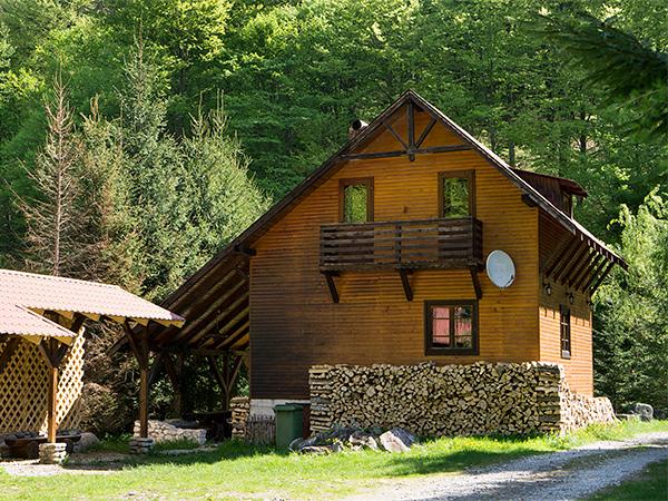 Rustic House - Cabana 1 lemn