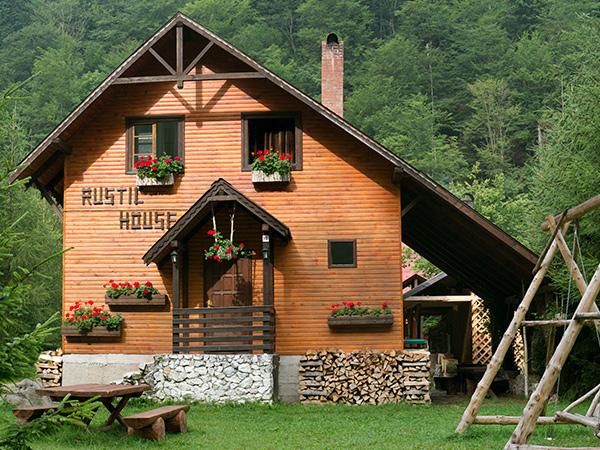 Pensiunea Rustic House Coada Lacului Lesu - Cabana 1 exterior