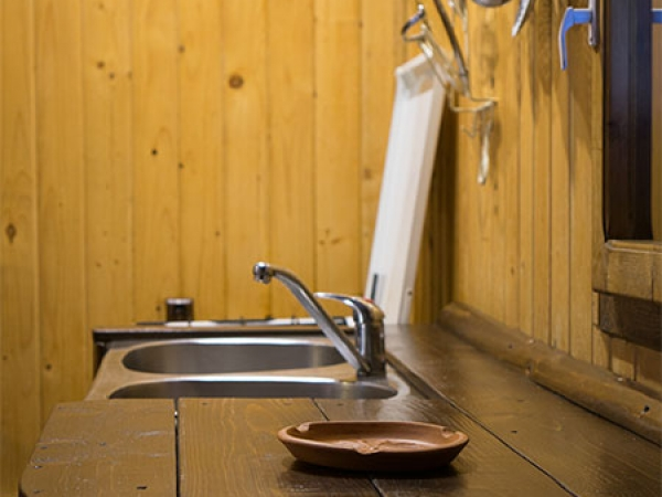 Pensiune Rustic House - Cabana 1 bucatarie
