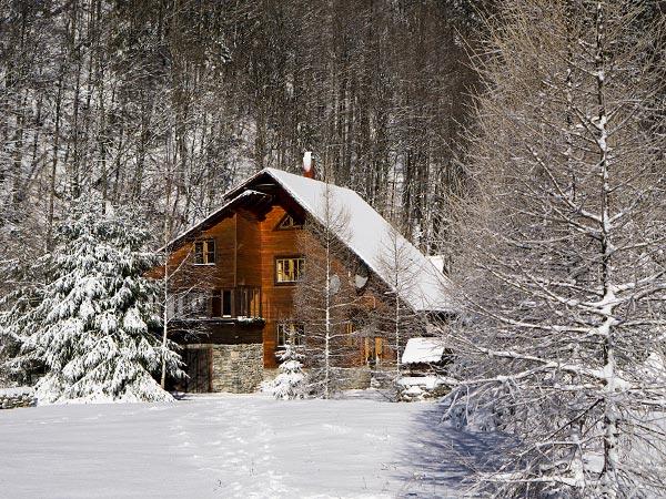 Pensiune Rustic House - Cabana 2 iarna zapada - cazare revelion