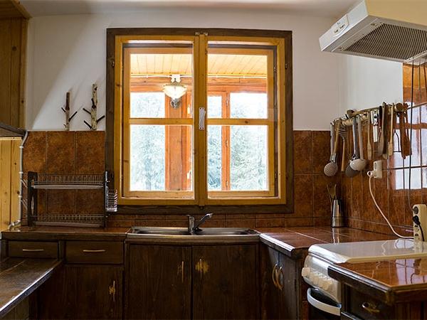 Pensiune Rustic House - Cabana 2 bucatarie