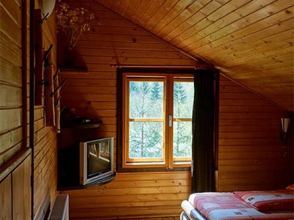 Pensiune Rustic House - Cabana 2, interior al camerei 3