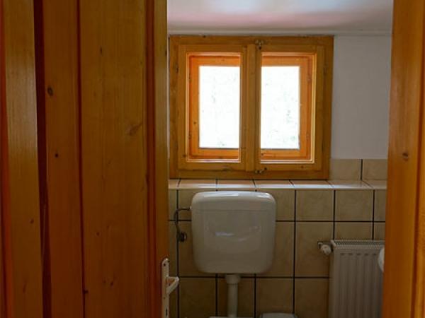 Pensiunea Rustic House - Cabana 2, baie din camera 3