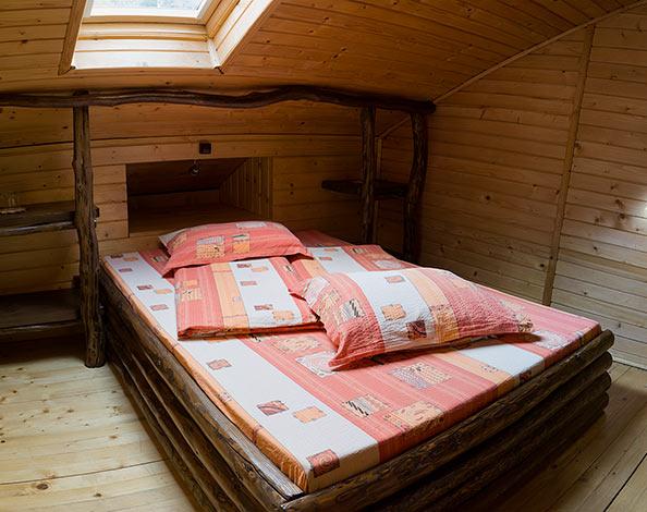 Pensiunea Rustic House - Cabana 2 camera 4 pat matrimonial