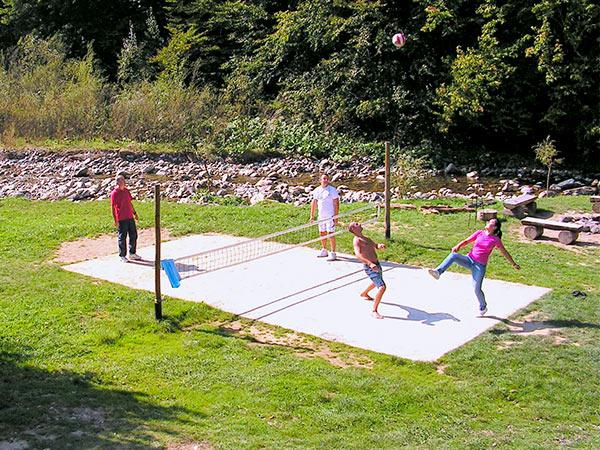 Rustic House - Cabana 2 teren sport tenis cu piciorul